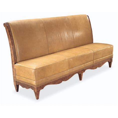 hickory chair banquette swaim f261 banquette collection dining banquette discount furniture at hickory park