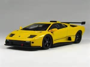Lamborghini Diablo Yellow Kyosho Lamborghini Diablo Gtr Yellow In 1 43 Scale