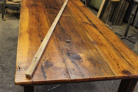 reclaimed wood table top diy diy wood plank table top