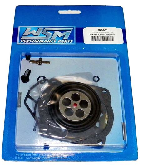 Repair Kit Carburator Parkit Skr Yamaha Rxs carb rebuild kit seadoo pwc mikuni sbn i 951 rx xp gtx wsm 006 351 ebay
