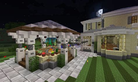 Patio Ideas Minecraft Lets See Some Bases Give Us A Tour Page 76 Feed The
