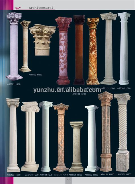 home decorative products home decorative carved columns for interior