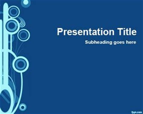 Blue Slide For Powerpoint Microsoft Powerpoint Design Templates