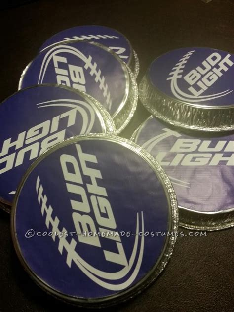 bud light zombie commercial coolest zombie six pack group halloween costume