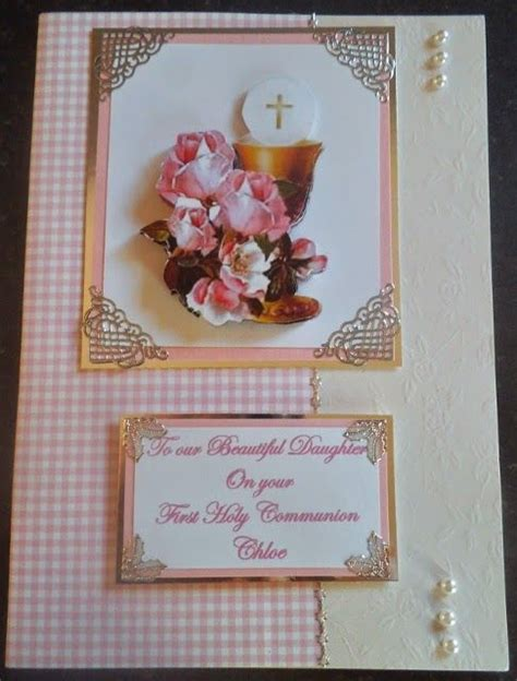 Handmade Confirmation Cards - 1000 images about handmade communion confirmation cards