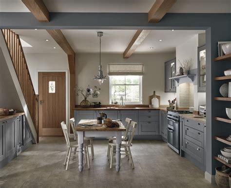 Tewkesbury Slate Grey   Shaker Kitchens   Howdens Joinery