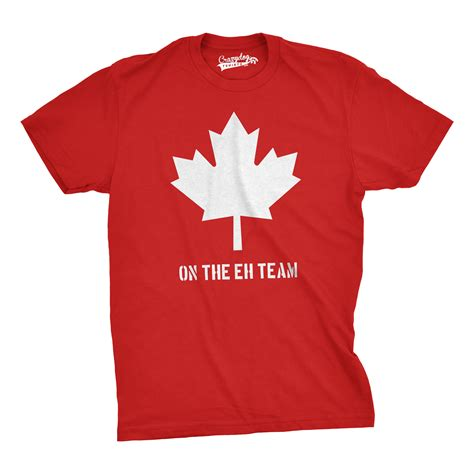 Tshirt Canada Bdc canada on the eh team t shirt canadian shirts ebay