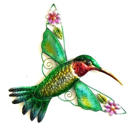 hummingbird home decor bejeweled display hummingbird w glass wall art plaque