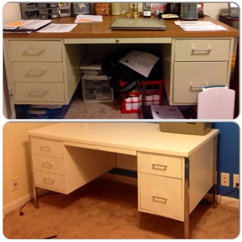 Refinish Desk by Metal Desk Refinished Just Prime Paint Home