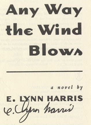 any way the wind blows 1st edition 1st printing e