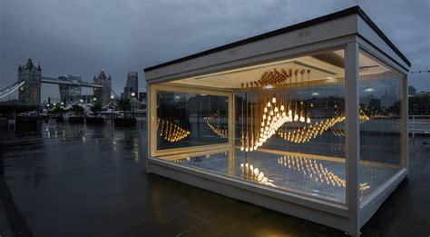 sculpture outside design museum london lightwave hulger