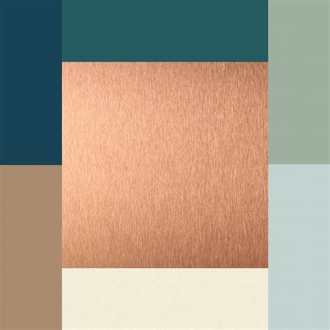 copper color combinations colors copper ivory brownish tan silvery blue moss