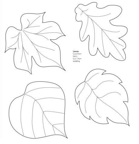 moldes de adornos fieltro para arbol moldes de hojas de 225 rboles