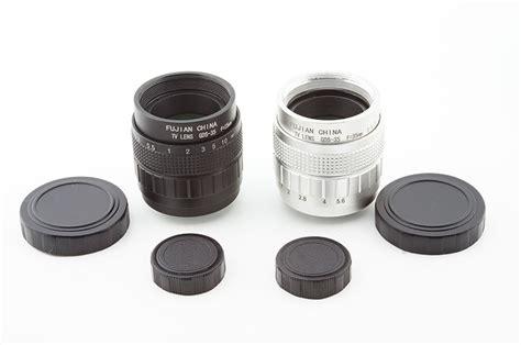 Fujian 50mm F14 Cctv Lens Adapter Macro Ring Lens fujian 35mm f1 7 cctv lens voor nikon systeem