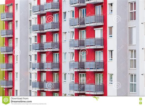 appartments to let apartments to let stock image image of balconies estate