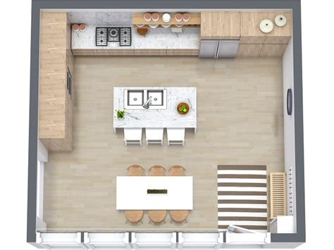 kitchen floor plans small spaces 3 best kitchen floor plan for your next renovation in 3d