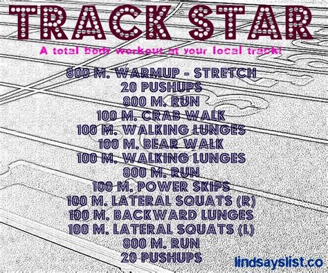17 best ideas about track workout on running
