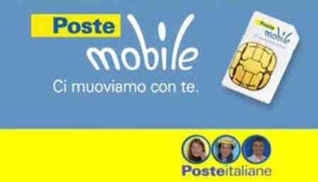 scheda poste mobile postemobile e postepay tariffa creami wow 30 gb 10