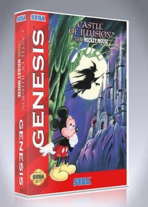 castle of illusion genesis sega genesis castle of illusions starring mickey mouse