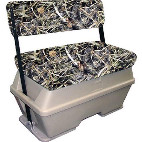 camo boat cooler seat moeller swingback cooler 72 qt marsh camo tan boat