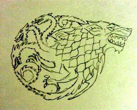 targaryen tattoo targaryen stark design by davebaker on deviantart