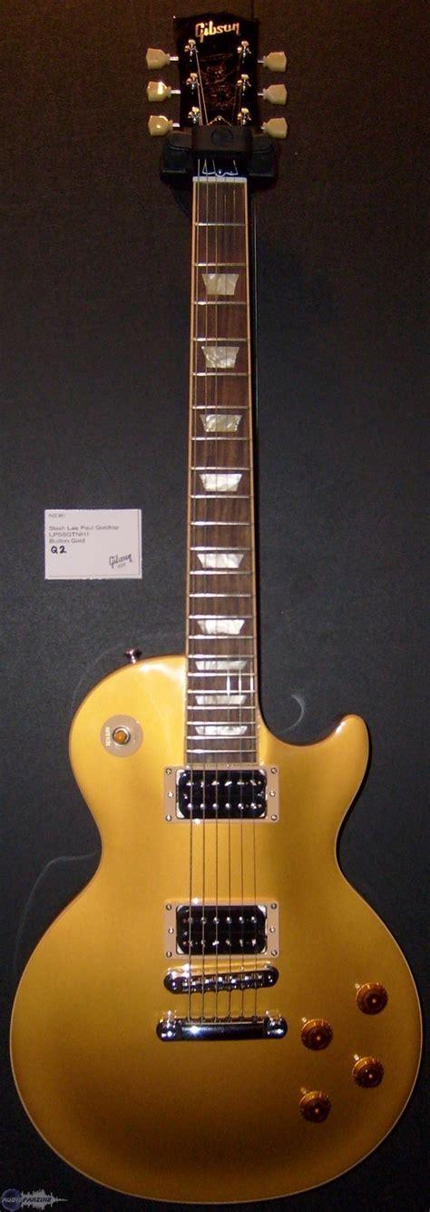 Miniatur Gitar Gibson Les Paul Gold Slash gibson slash les paul goldtop image 513930 audiofanzine