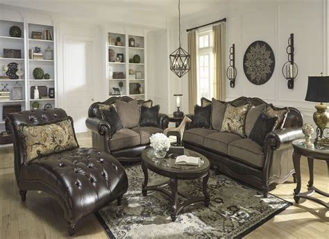 Vintage Living Room Sets Winnsboro Durablend Vintage Living Room Set From Coleman Furniture