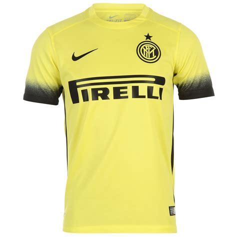 Inter Milan 3rd Jersey nike inter milan 3rd jersey 2015 2016 juniors yellow black