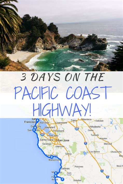 California Pch Itinerary - 3 days on the pacific coast highway road trip itinerary