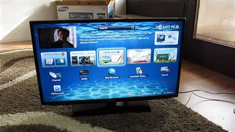 samsung led smart tv eh5300 unboxing hd