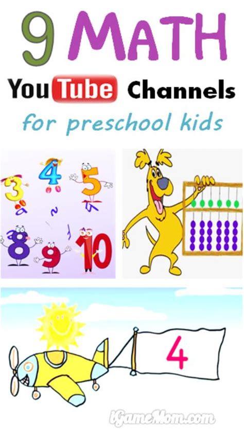 kindergarten activities youtube 9 math youtube channels for preschool and kindergarten kids