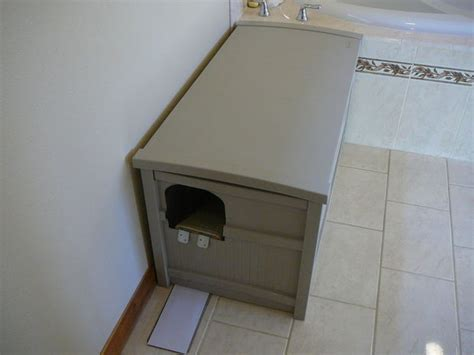 How To Keep Cat Litter The Floor by How To Make A Mess Less Cat Litter Box