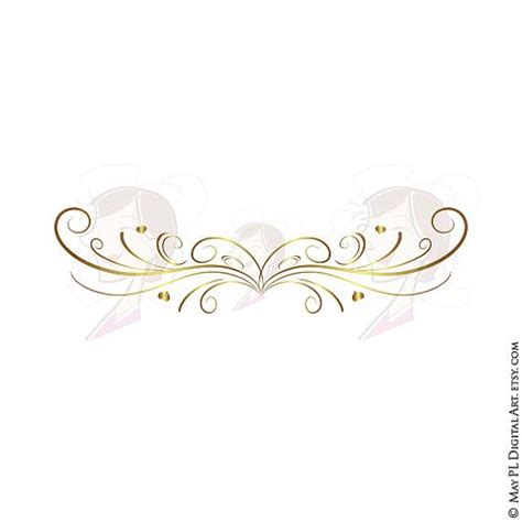 Wedding Border Gold by Decoration Clipart Wedding Reception Pencil And In Color