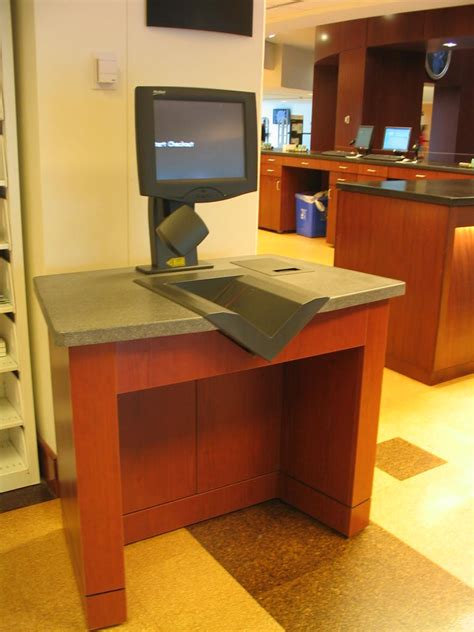 Check Out Desk by College Of Charleston