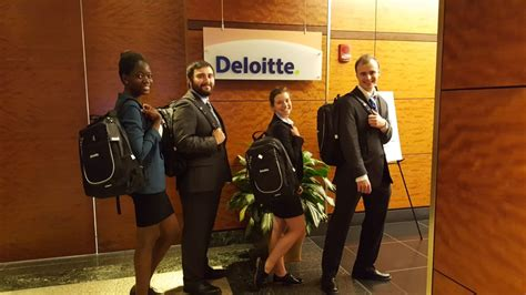 Deloitte Mba Competition 2016 by Gustavus Team Wins Deloitte Accounting Competition After