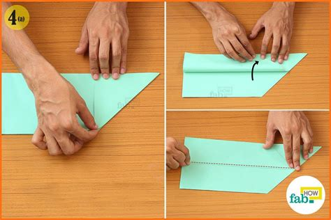 How To Make A Paper Airplane That Flips - how to make a paper airplane that flies far fab how