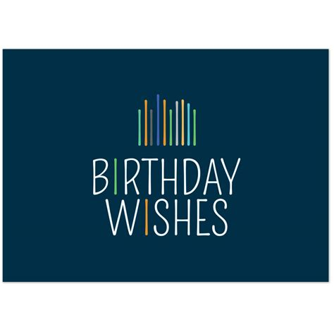 birthday card modern birthday wishes greeting card warwick publishing