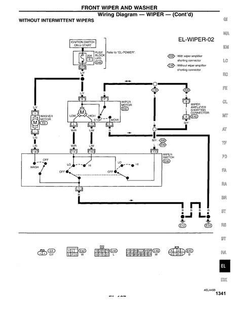 honda civic wiper wiring diagram 28 images wiper motor