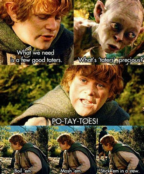 the funny and fab film what s up doc my favourite whats taters gollum quotes quotesgram