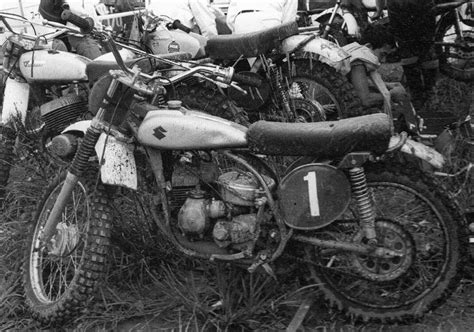 works motocross here are some badass pics of early japanese works bikes