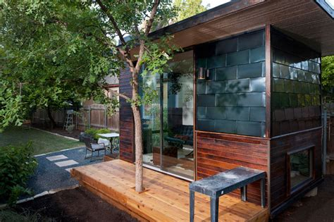 backyard home office sett studio contemporary prefab studios by sett studio