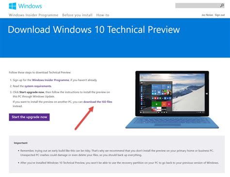 install windows 10 technical preview from usb windows 10 technical preview dual boot setup ingenious