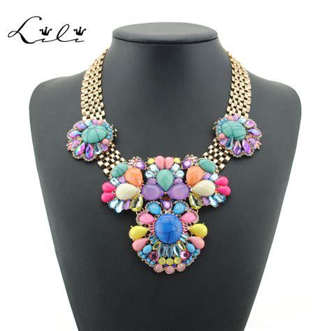 Perhiasan Fashion Wanita Kalung Choker Liontin Manik 2015 merek baru fashion aksesoris perhiasan kalung
