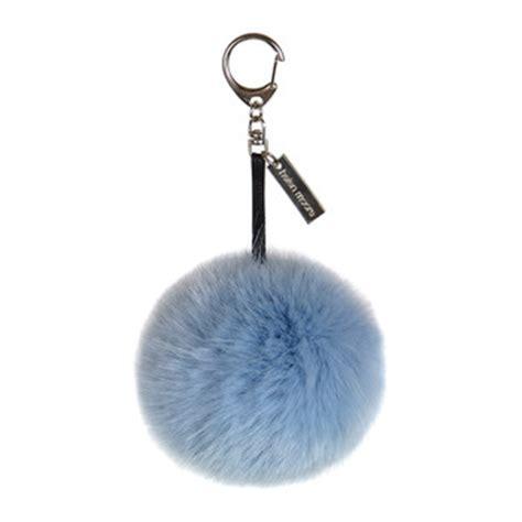 Laudree Bag Charm Grey Won keyrings designer bag charms key chains amara