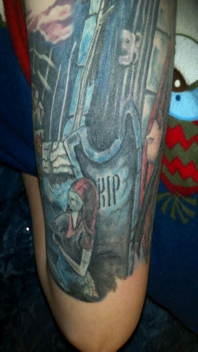 tattoo madison wi nightmare before sleeve artist credit