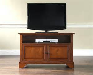 cherry crosley furniture tv stand sears - Sears Tv Stands