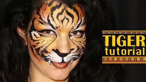 Tiger — Makeup & Face Painting Tutorial - YouTube Realistic Tiger Makeup
