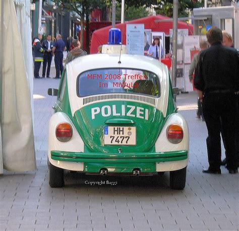 german police car  remember   ticket   didnt lock  car doors   ran