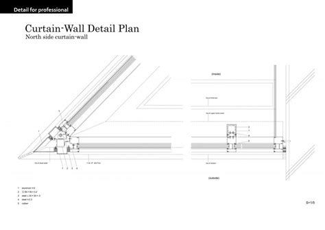 curtain wall house plan rest villa funabori in tokyo japan by jun ichi ito
