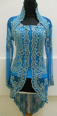 Kebaya Brokat Set Blue best 25 kebaya ideas on kebaya